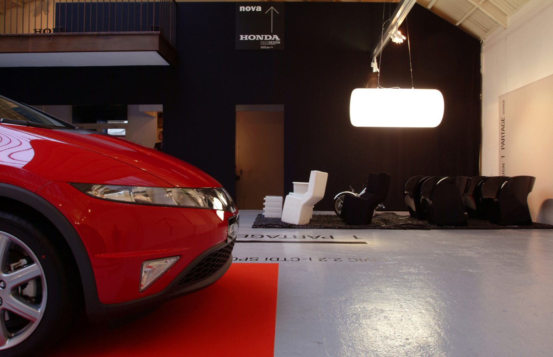 Philippe Boisselier - Ergo Design Honda 2