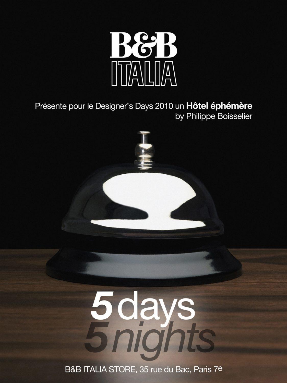 Philippe Boisselier - Showroom B&B, Designer's Days 2