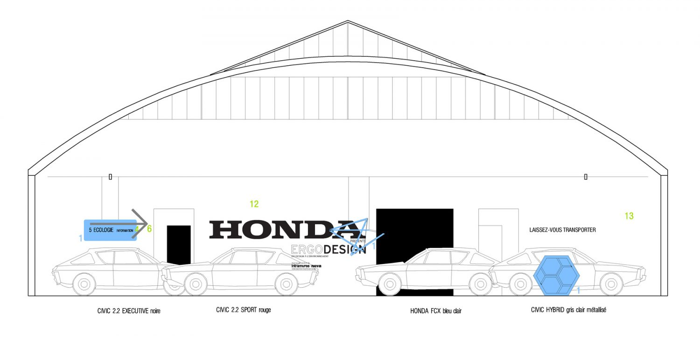 Philippe Boisselier - Ergo design, Honda 2