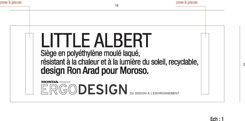 Philippe Boisselier - Ergo design, Honda 3