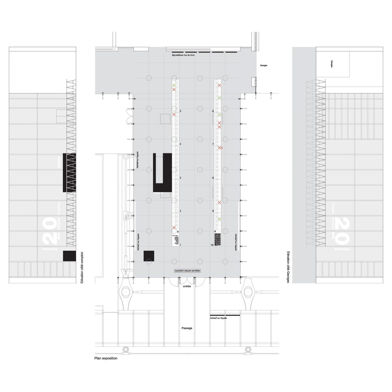 Philippe Boisselier - Plaques Sensibles Beaubourg, Milan 2