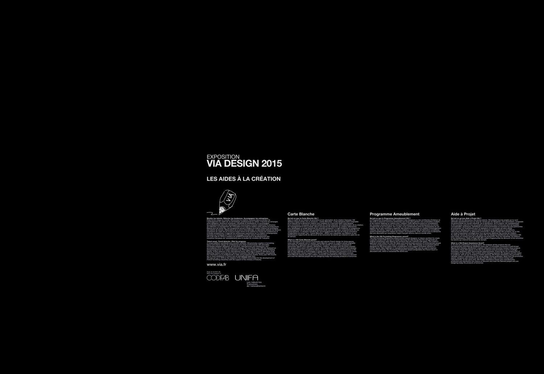 Philippe Boisselier - VIA Design 2015 2